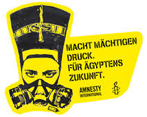 Amnesty-Infostand zum Tag der Folteropfer am 26. Juni 2013 in Wiesbaden